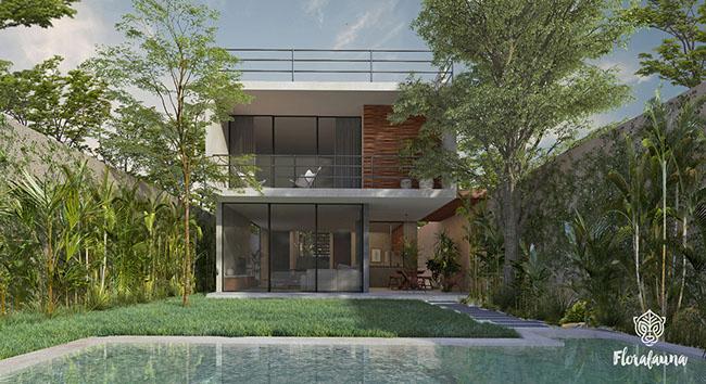 Wondrous Florafauna Houses Tulum Investor Interior Design Ideas Gentotthenellocom