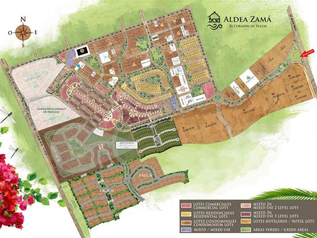 Aldea Zama Master Plan Map